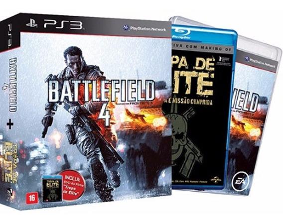 Battlefield 4 Ps3 Lacrado! Edição Especial Filme Tropa Elite