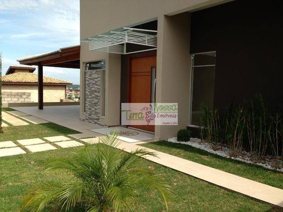 Chácara Residencial Para Venda E Locação, Mirantes Das Estrelas, Vinhedo. - Ch0075