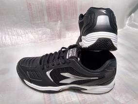 dfba0774679 Tênis Diadora Hi Supreme 3 Masculino Black silver Nº 38