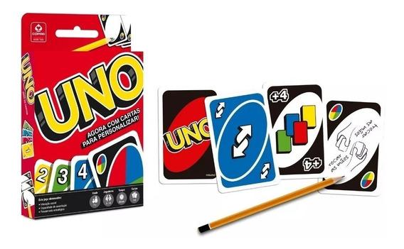 Jogo De Cartas Baralho Uno 114 Cartas Original - Copag
