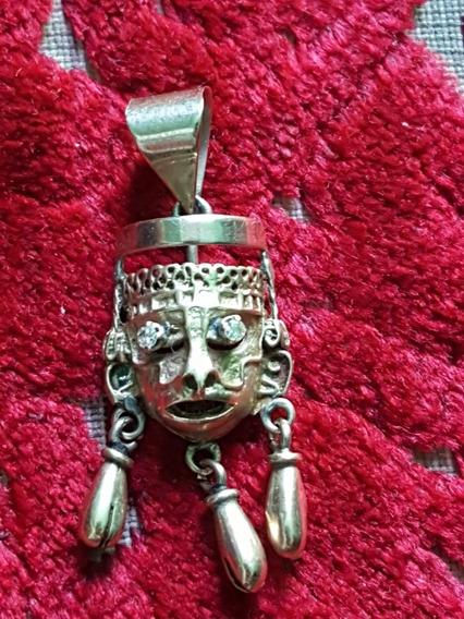 Dije De Mascara Azteca