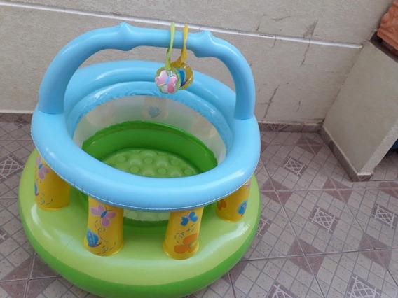 Cercadinho E Chiqueirinho Pula-pula Inflável - Jump Intex3 P