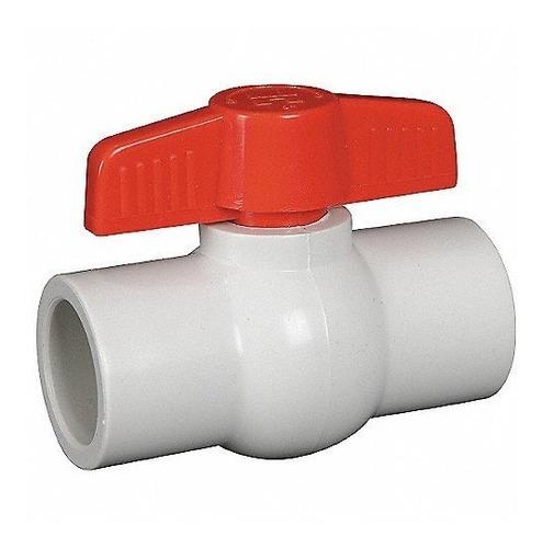 Válvula Esférica Agua Riego Plastica Pvc 1.1/4'' Fiting Shop
