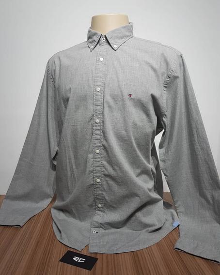 Camisa Social Tommy Hilfiger New York Fit Original Promoção