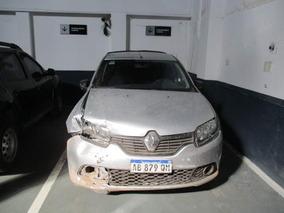 Renault Sandero Ii 1.6 Expr 2017 Chocado Ab879qm Preventa!!