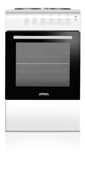 Cocina Electrica Atma Cce3110b 50 Cm Blanca Envio Gratis