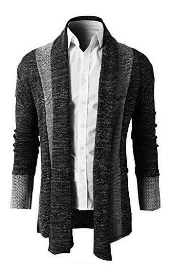 Sweater Hombre Slim Fit Suéter Elegante Moda Juvenil Casual