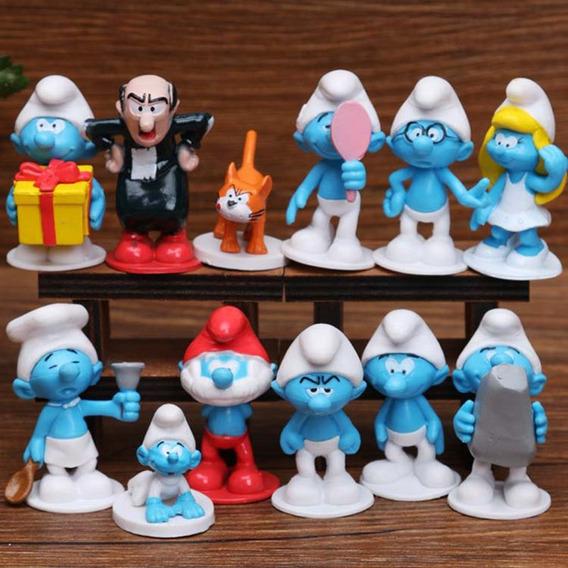 Smurfs Coleção Gargamel Cruel Papai Smurfs Smurfete Soneca