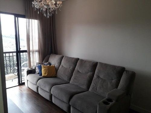 Apartamento Com 2 Dormitórios À Venda, 59 M² Por R$ 360.000,00 - Jardim Belval - Barueri/sp - Ap4715