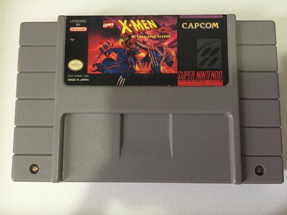 X-men Mutant Apocalypse Super Nintendo Original