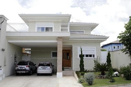 Casa 5 Suítes Em Condomínio Fechado Atibaia, Excelente Localização Na Cidade. - Ca01058 - 68711677