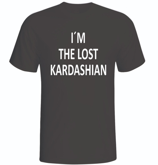 Camiseta Camisa Im The Lost Kardashian Moda Tumblr -unissex