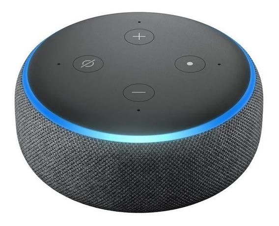Smart Speaker Amazon Alexa Echo Dot 3 Português