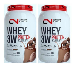 Whey 3w Concept Nutrition 1,8kg