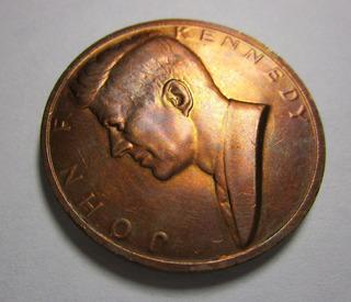 Medalla Moneda John F Kennedy President 3.5cm Grande *