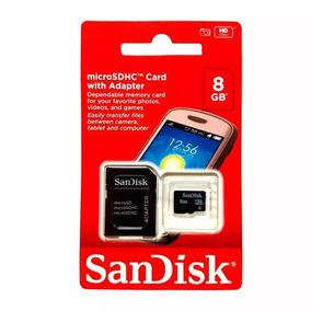Cartão Memória Micro Sd 8gb Lacrado Original