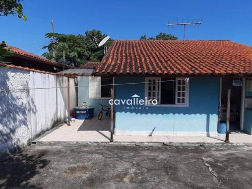 Casa Com 3 Dormitórios À Venda, Condomínio Elisa Em Ponta Grossa - Maricá/rj - Ca3547