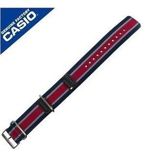 Malla / Correa Para Reloj Casio G Shock Ga 100 Mc 2a - Tela