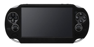 Liquidacion Funda Silicon Negro Sony Ps Vita Contra Caidas