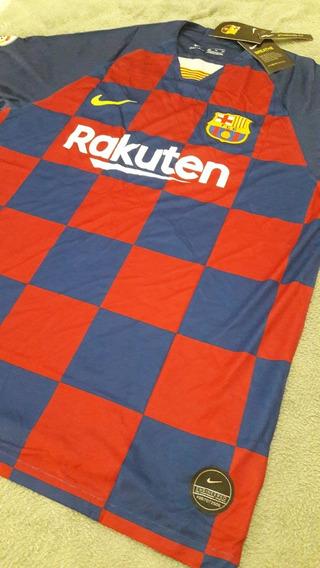 Camisa Messi #10 Barcelona Authentic La Liga Nova 2020