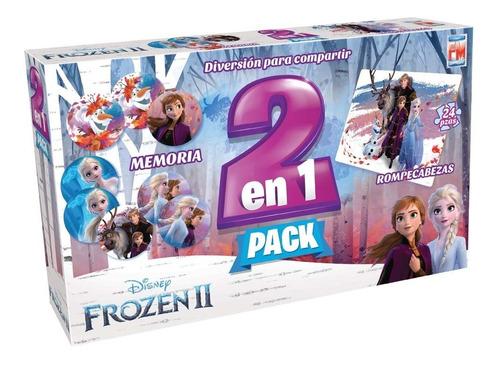 Juego De Mesa Fotorama 2 En 1 Frozen 2