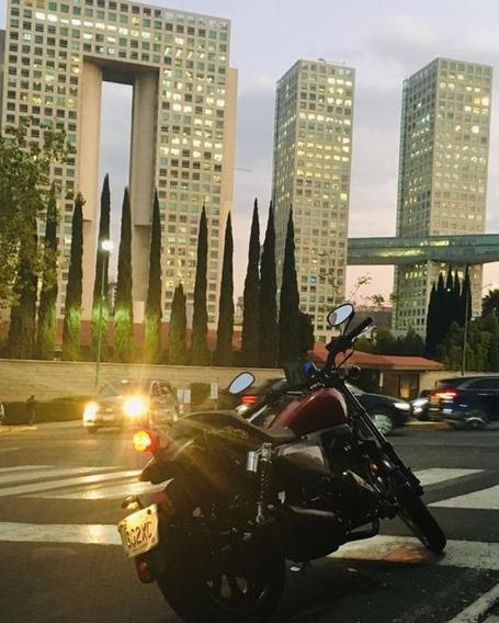 Motocicleta Keeway K-light 202, Modelo 2019, Color Rojo