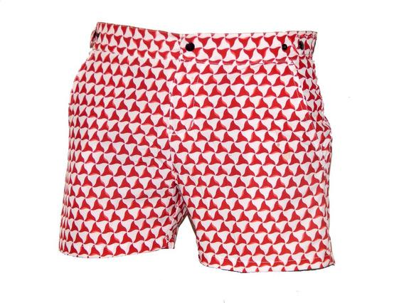 Pantalon Short Traje De Baño Mayas Hombre Jeans710