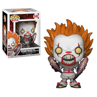 Funko Pop It Pennywise Bobble Head Figura Nro 542 Nuevo
