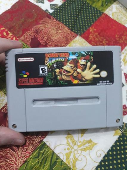 Fitas De Super Nintendo Donkey Kong Country