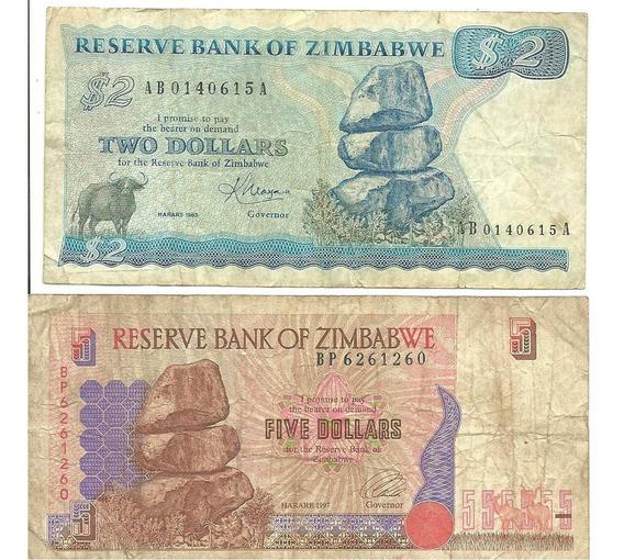 UNC Pick 6 ZIMBABWE 10 Dollars 1997