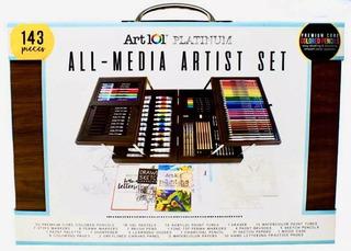 Art 101 Set De Pinturas Arte Oleo Pastel Lapiz, 154 Piezas