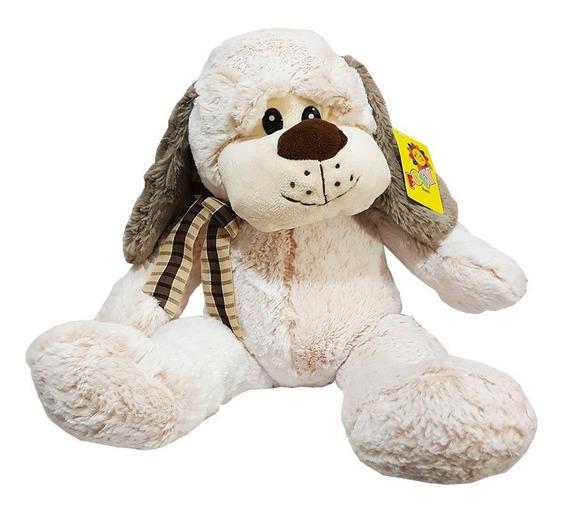 Cachorro De Pelúcia Grande Sentado Fofy Toys