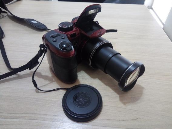 Câmera Semi Profissional Ge X500 - 16mp Zoom Óptico 15x