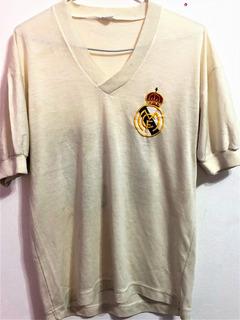 Camisa Real Madrid Usada Em Jogo 1978/79 Ultra Rara