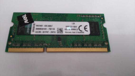 Memoria Ddr3 - 4 Gb Para Notebook Avell B153 Plus Original