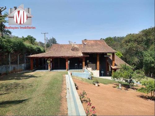 Chácara Com Escritura, 03 Dormitórios À Venda, 1080 M² Por R$ 370.000 - Zona Rural - Pinhalzinho/sp - Ch0202
