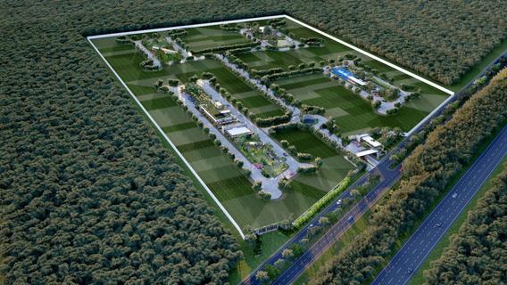En Cholul, Lotes Residenciales En Espectacular Privada Con 4 Parques Temáticos
