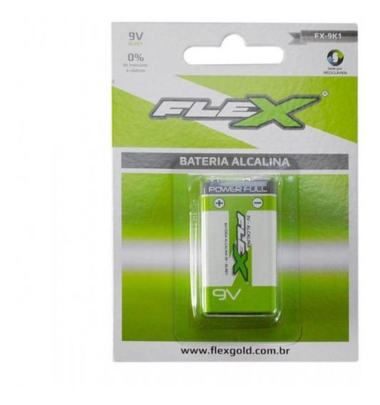 Bateria Alcalina 9v - Fx-9k1 - Flex