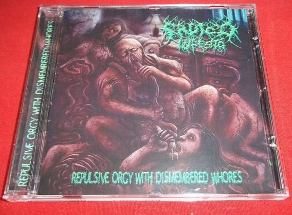 Cd Sádico Infesto - Repulsive Orgy With Dismembered Whores