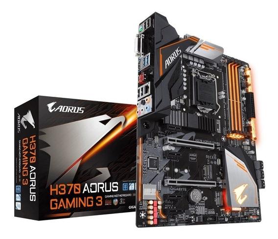 Placa Mãe Gigabyte Ga-h370 Aorus Gaming 3-ddr4-coffee Lake