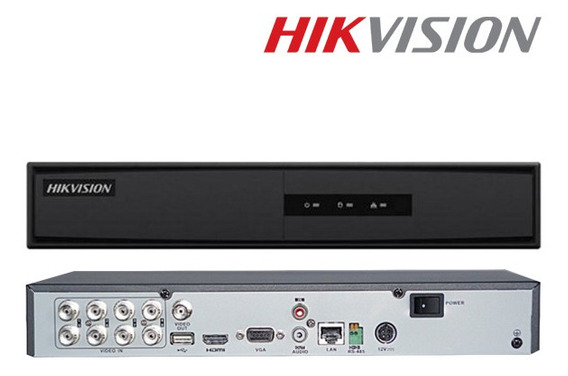 Dvr Hikvision 8 Canales Hd 720 Ds-7208hghi-f1