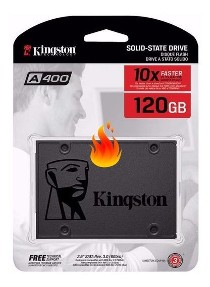 Disco Rigido Ssd Solido Kingston 120gb Sata3 400 Martinez