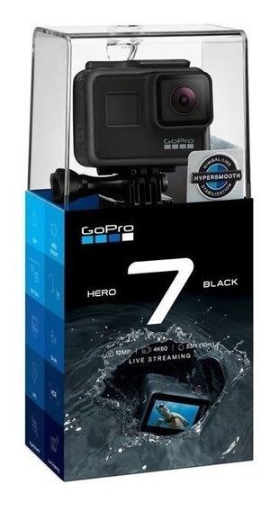 Gopro Hero 7 Blach 4k +1 Cartao 64 Ultra
