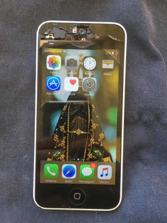 iPhone 5c Tela Quebrada