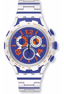 Reloj Swatch Irony Chemical Blue Yys4011ag | Envío Gratis