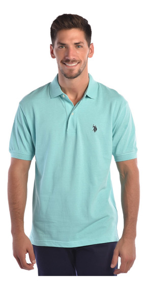Polo Regular Fit U.s. Polo Multicolor Uslpm44627 Hombre