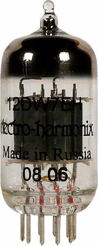 Imagen 1 de 1 de Válvula Electro Harmonix 12dw7 / Ecc832 / 7247 Rusia