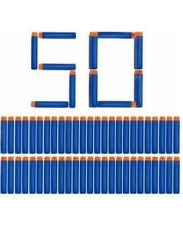 50 Dardos De Repuesto Para Nerf N-strike Elite Envio Ya