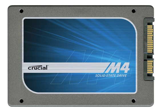 Ssd 128gb Sata Crucial M4 128gb 2.5in 7mm 6gb/s Ct128m4 1