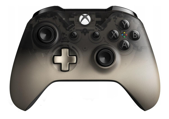 Controle joystick Microsoft Xbox One phantom black special edition